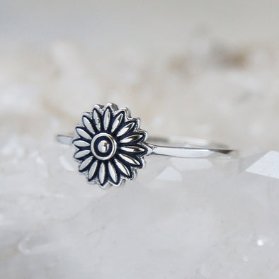 Daisy Ring - Sterling Silver