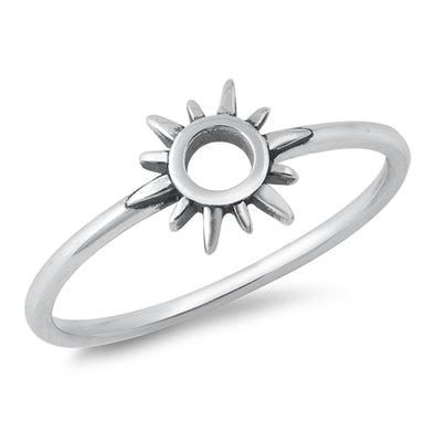 Sunshine Ring - Sterling Silver
