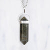 Labradorite Necklace (Sterling Silver Pendant)