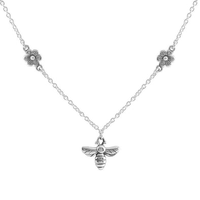 Meant to Bee Necklace - Sterling Silver