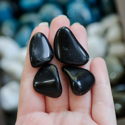 Obsidian Tumble Tumbled Stones | Crystal Shop Australia, Afterpay and zipPay available
