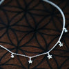 Star Light Choker - Sterling Silver