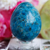 Blue Apatite Egg - Piece #6