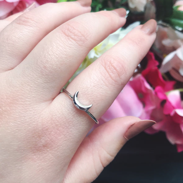Luna Ring - Sterling Silver