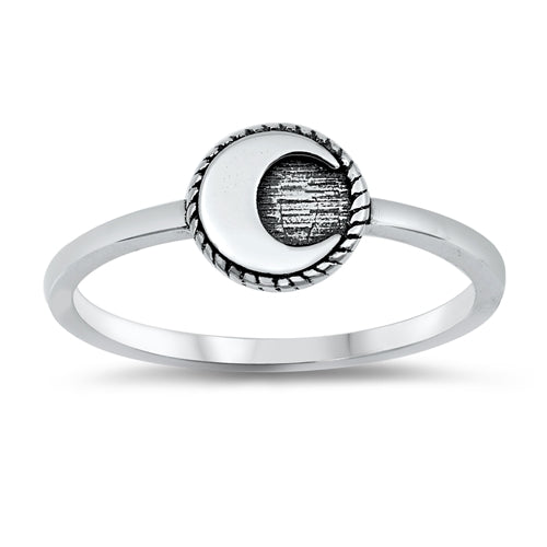 Moon Ring * - Sterling Silver