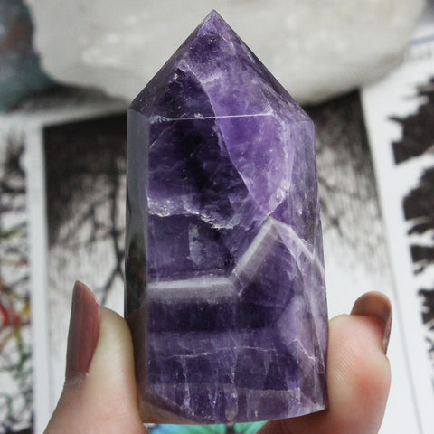 Chevron Amethyst - Piece #45