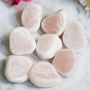 (SECONDS) Rose Quartz Seer Stone