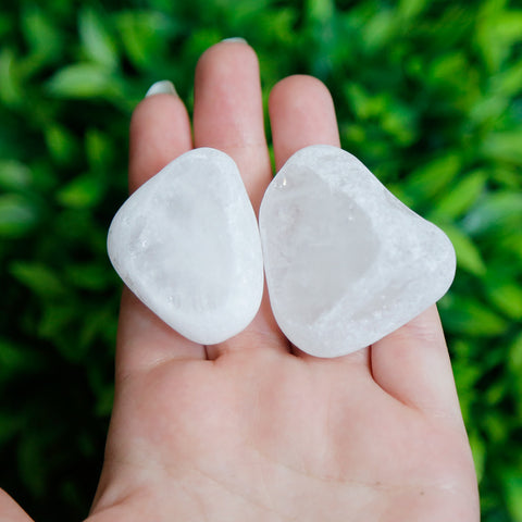 Clear Quartz Seer Stone