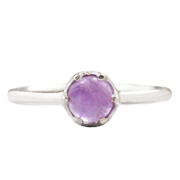Amethyst 'Sophie' Ring - Sterling Silver