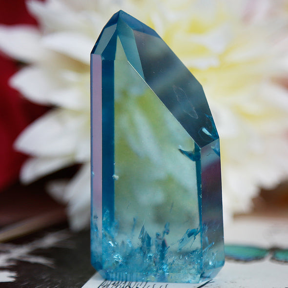 Aqua Aura Quartz - Piece #11