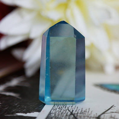 Aqua Aura Quartz - Piece #14