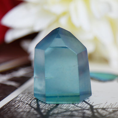 Aqua Aura Quartz - Piece #12