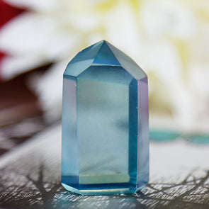 Aqua Aura Quartz - Piece #16
