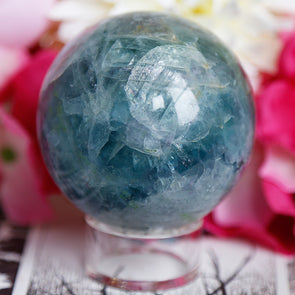 Rainbow Fluorite Sphere - Piece #33