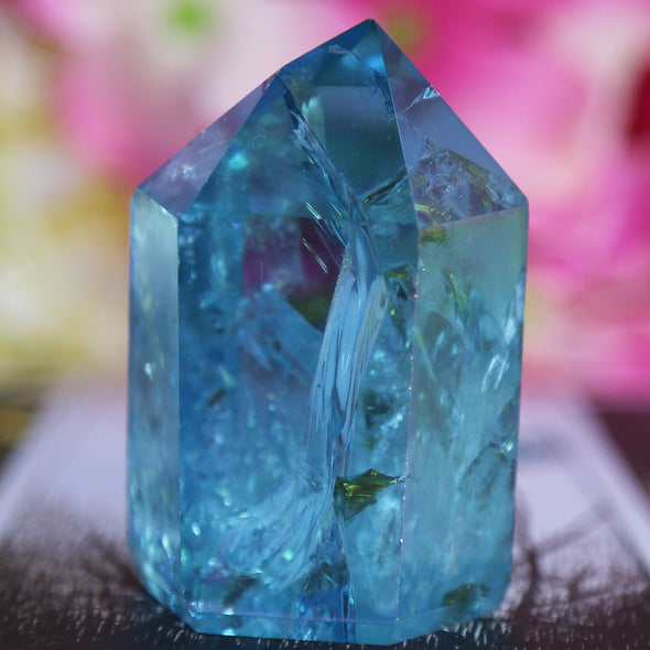 Aqua Aura Quartz - Piece #9