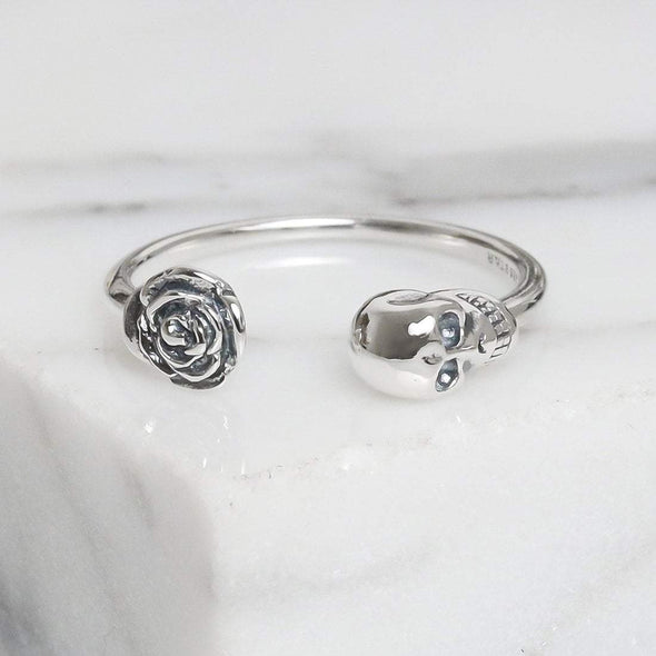Kiss From a Rose Ring - Sterling Silver