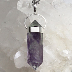 Rainbow Fluorite Necklace - Piece #13