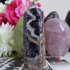Chevron Amethyst - Piece #102