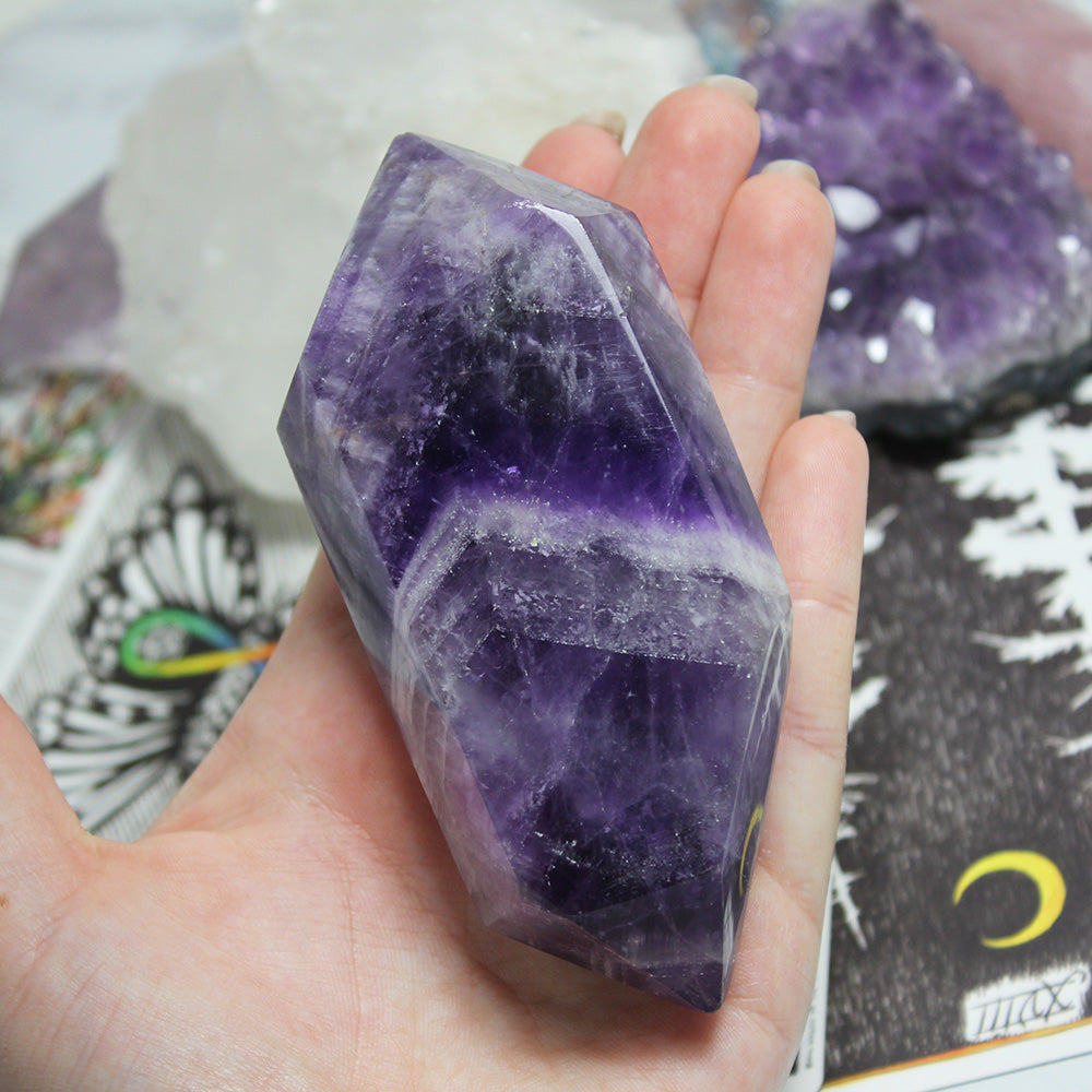 Chevron Amethyst - Piece #79