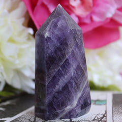 Chevron Amethyst - Piece #127