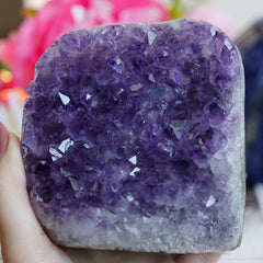 Amethyst Cluster with cut base - Piece #5