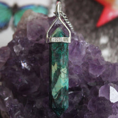 Chrysocolla Necklace - Piece #12