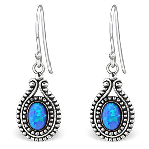 Pacific Earrings - Sterling Silver