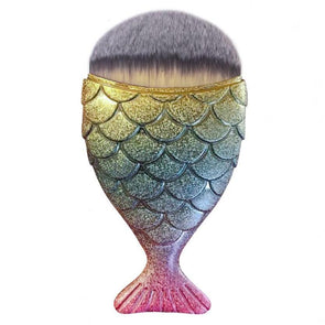 The Original Chubby Mermaid Brush - Rainbow