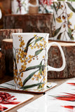 Floral Emblem Mug - Golden Wattle