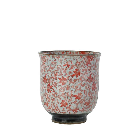 Japanese Tea Cup - Sachiko Red