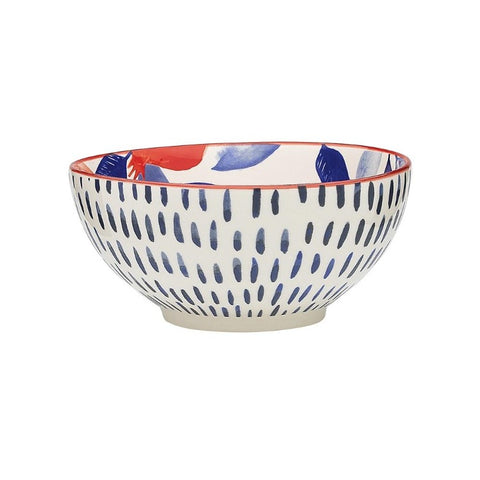 Stoneware Noodle Bowl - Punch Pomegranate