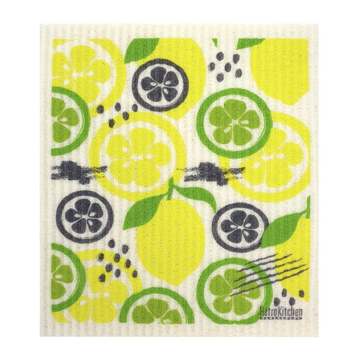 Biodegradable Dish Cloth - Lemon & Lime