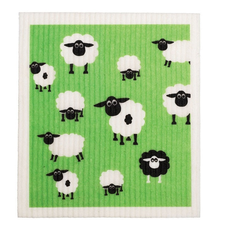 Dish Cloth - Sheep