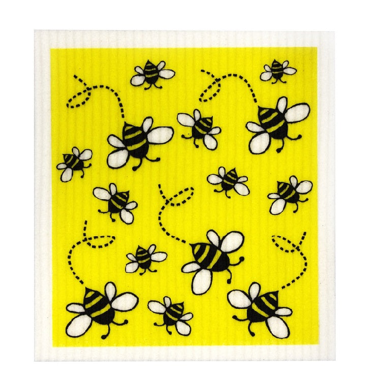 Biodegradable Swedish Dish Cloth - Bees