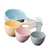 Avanti Ribber Measuring Cups - Pastel