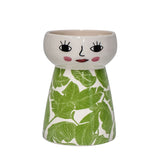Ceramic Doll Vase - Tropic