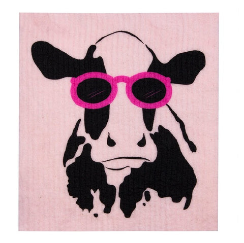 Dish Cloth - Cow
