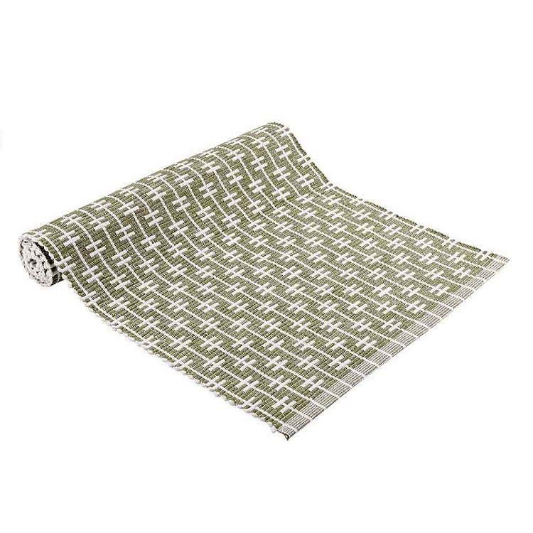 Eden Ribbed Table Runner - Sage