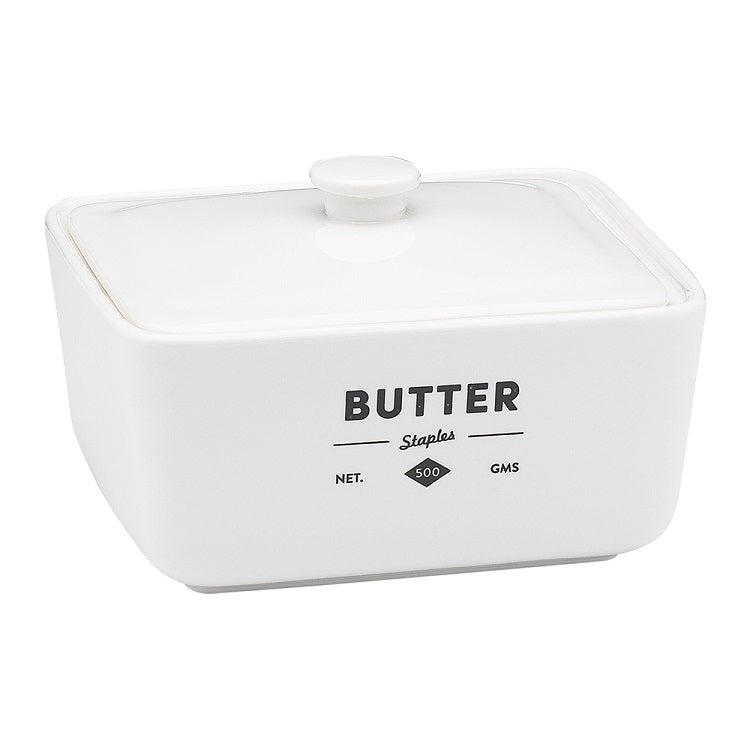 Staple Foundry Butter Dish with Lid