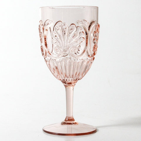 Flemington Acrylic Wine Glass - Pink