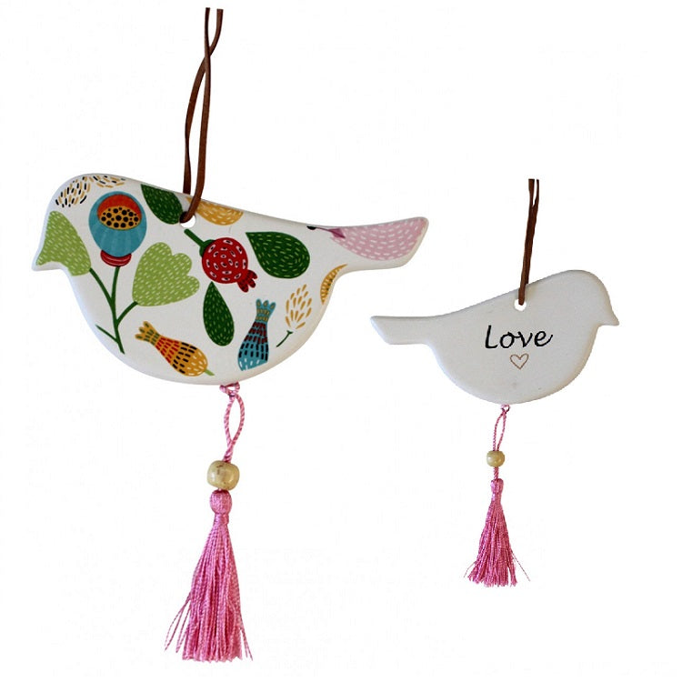 Hanging Ceramic Gift Tags - Buds