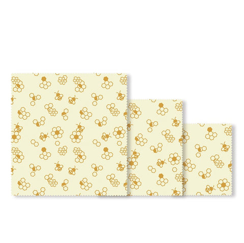 Beeswax Food Wrap - Starter Pack