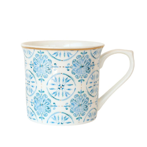 Lisbon wide flared mug fine bone china