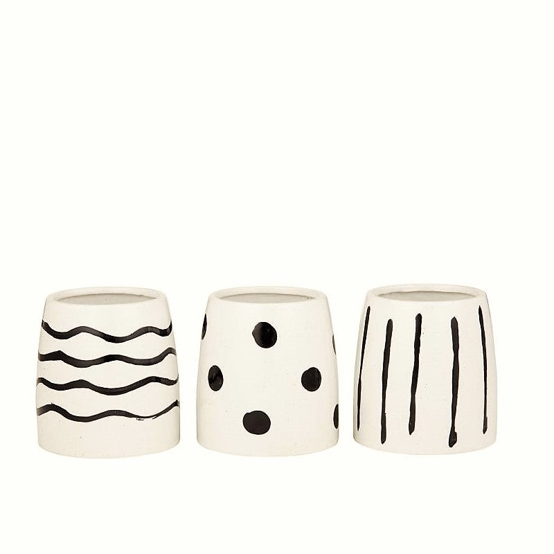 Mahala Vase/Pot - 3 Assorted Designs