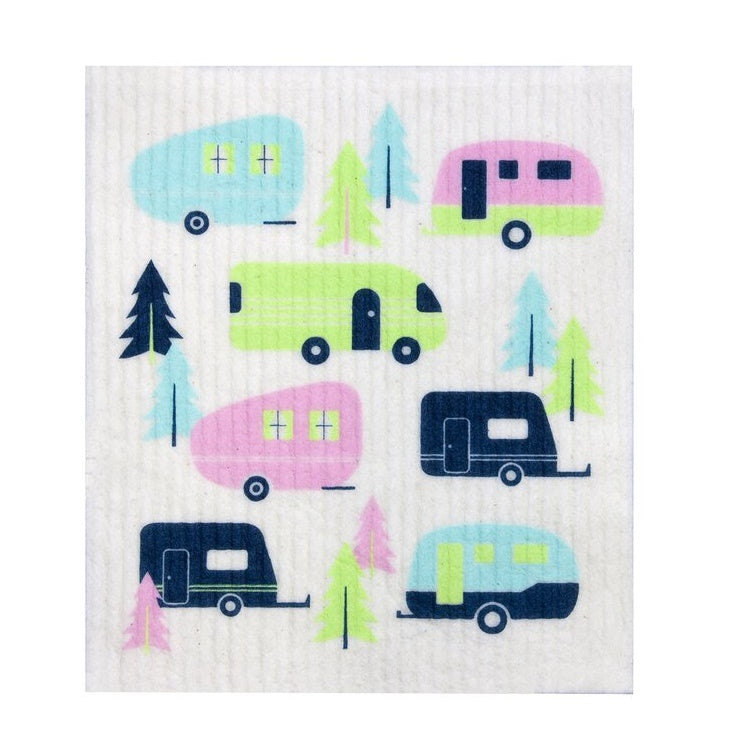 Biodegradable Dish Cloth - Caravans