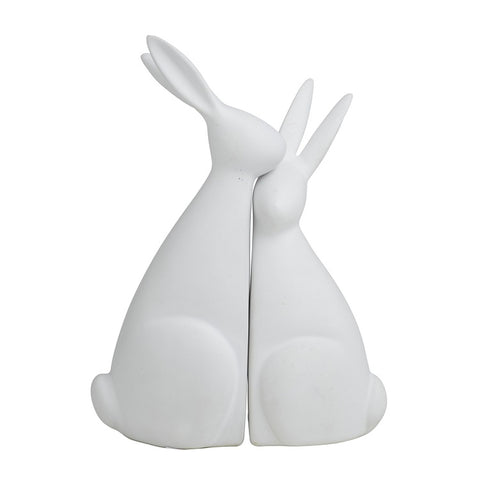 Rodger & Jessica Rabbit Sculptures - Set of 2