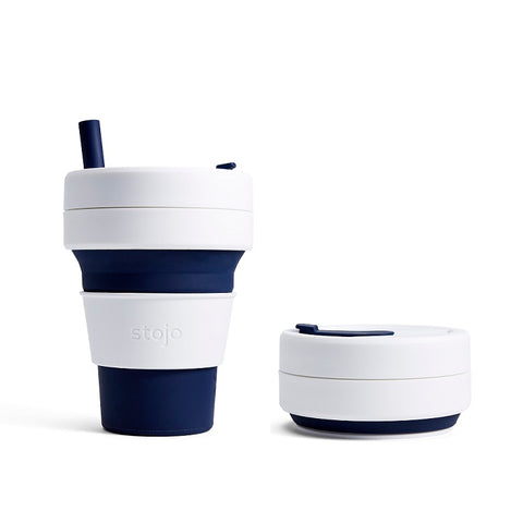 Stojo Biggie Collapsible Cup - Indigo 470ml