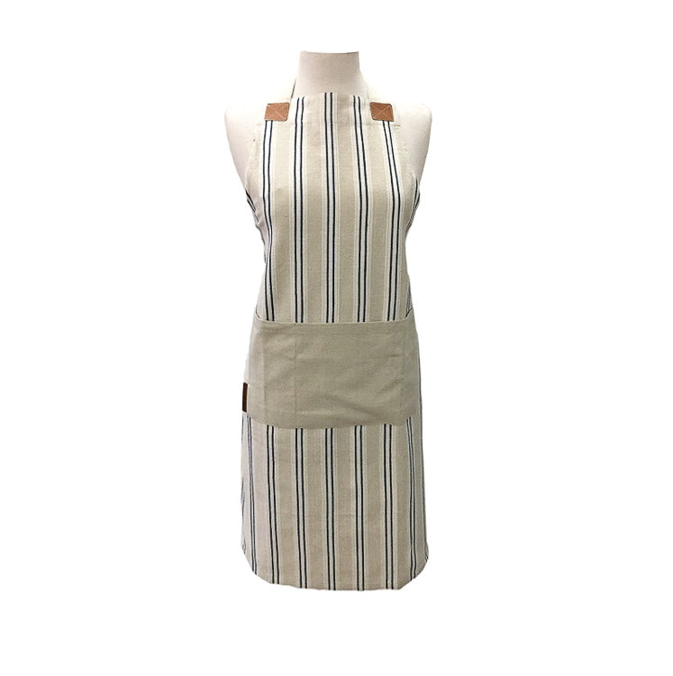 Twill Stripe Cotton Apron