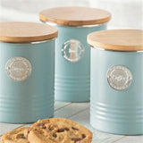 Typhoon Living Canisters - Blue Set of 3