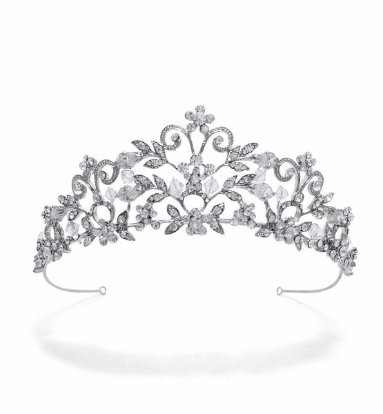 Amalia Wedding Tiara-Starlet Jewellery